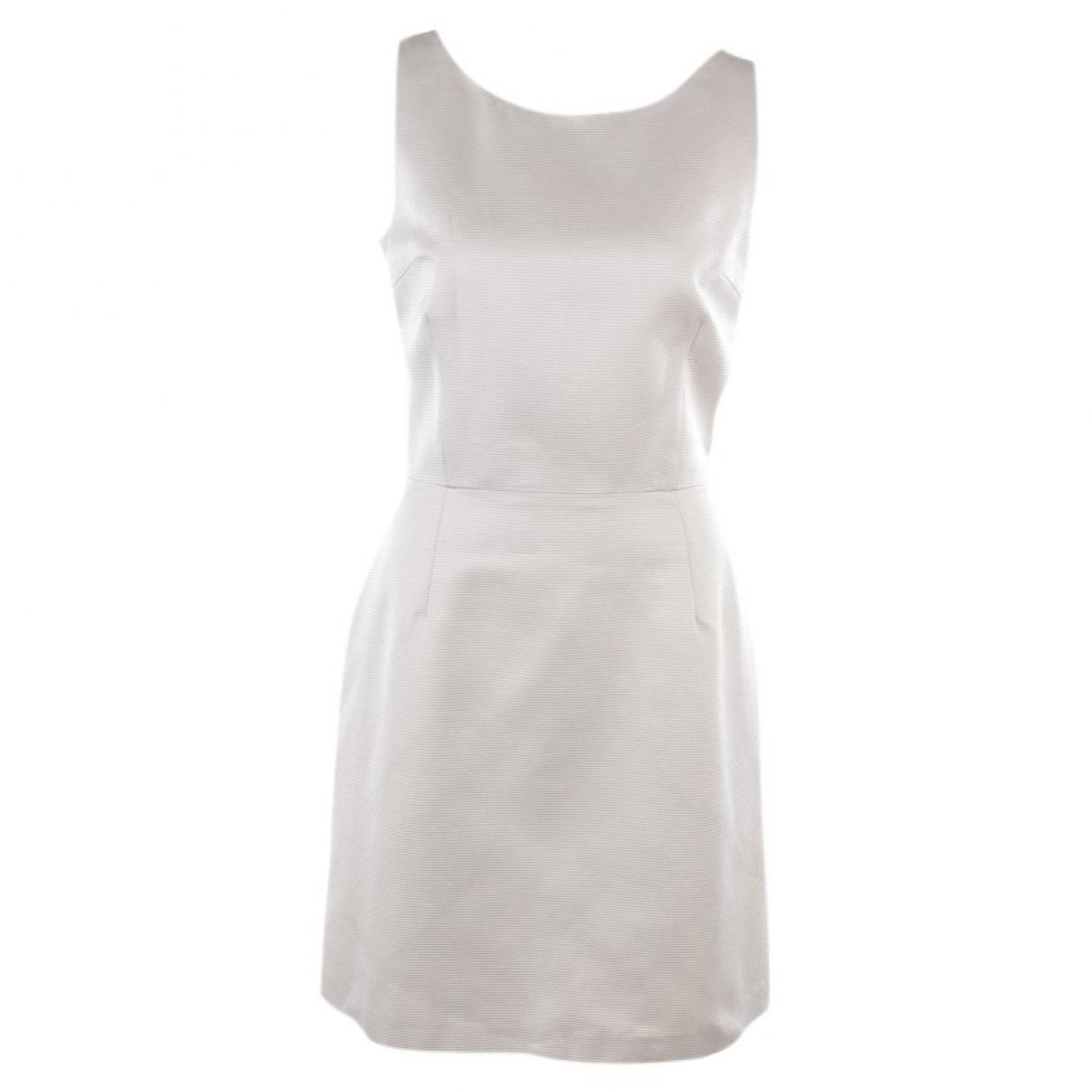 Blumarine \N Kleid in  Grau Baumwolle