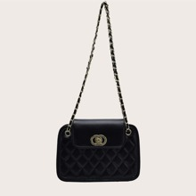 Quilted Chain Shoulder Bag