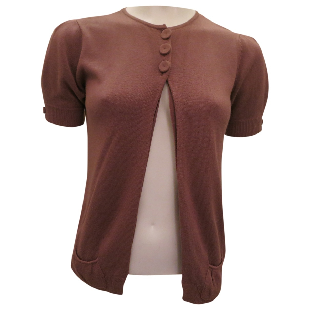 Chloé \N Camel Cotton Knitwear for Women 42 FR