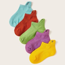 Calcetines tobilleros de niñitos simple 5 pares