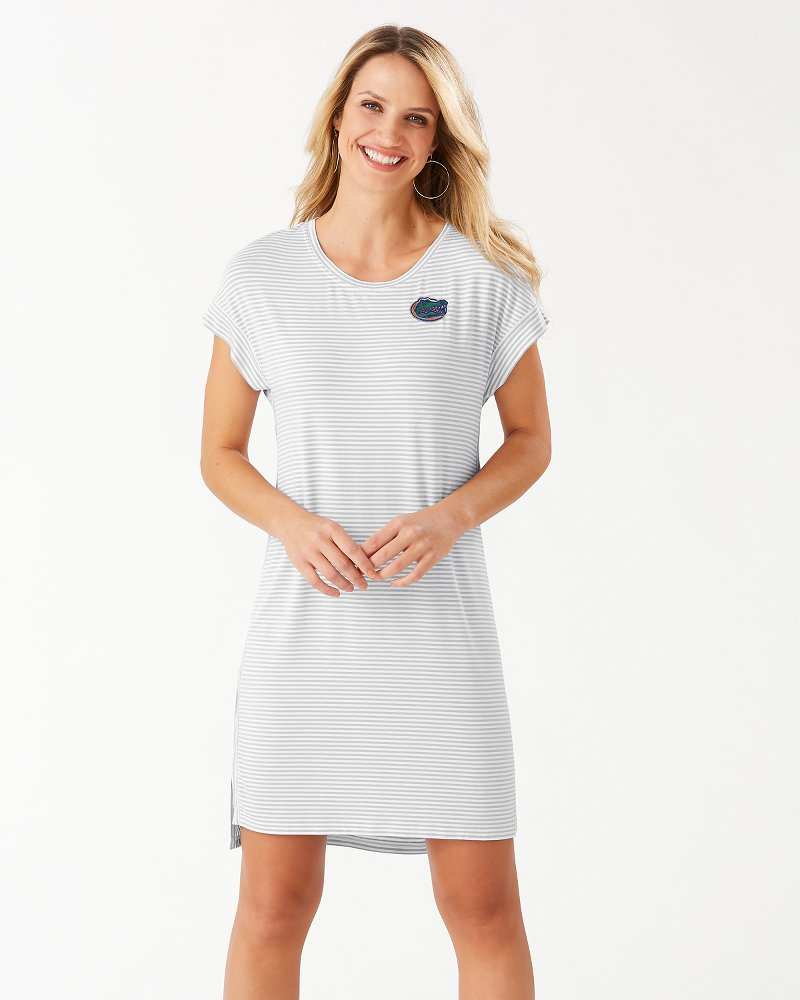 Collegiate Cassia Stripe T-Shirt Dress