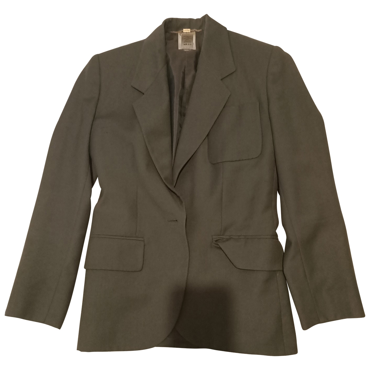 Celine N Khaki Cotton jacket for Women 36 FR