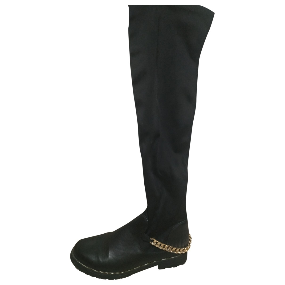 Non Signé / Unsigned \N Black Boots for Women 40 EU