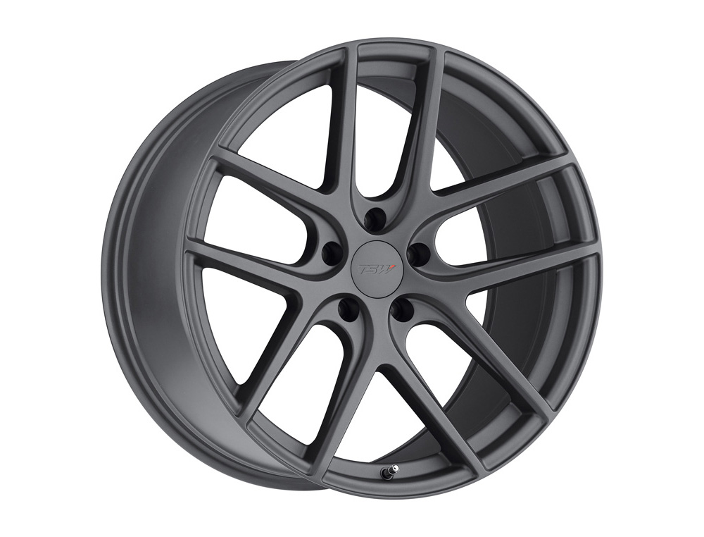 TSW Geneva Wheel 17x8 5x114.30 40mm Matte Gunmetal