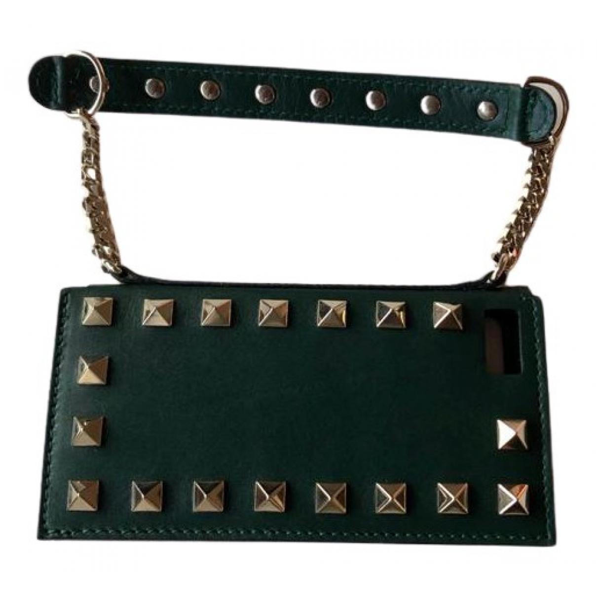 Valentino Garavani - Accessoires   pour lifestyle en cuir - vert