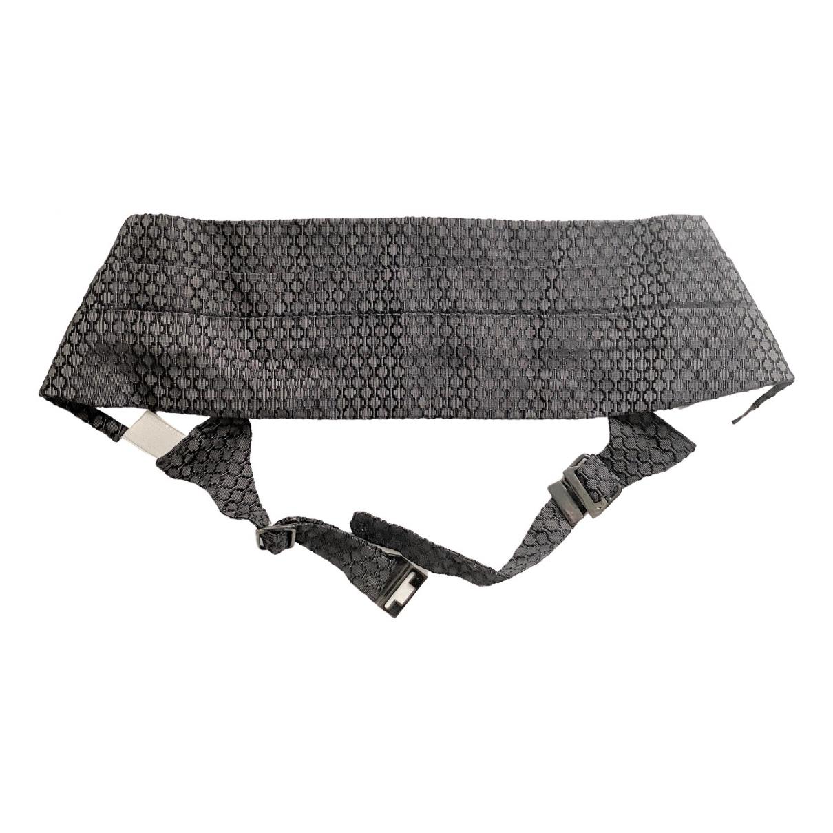 Gucci \N Grey Cloth belt for Men M international