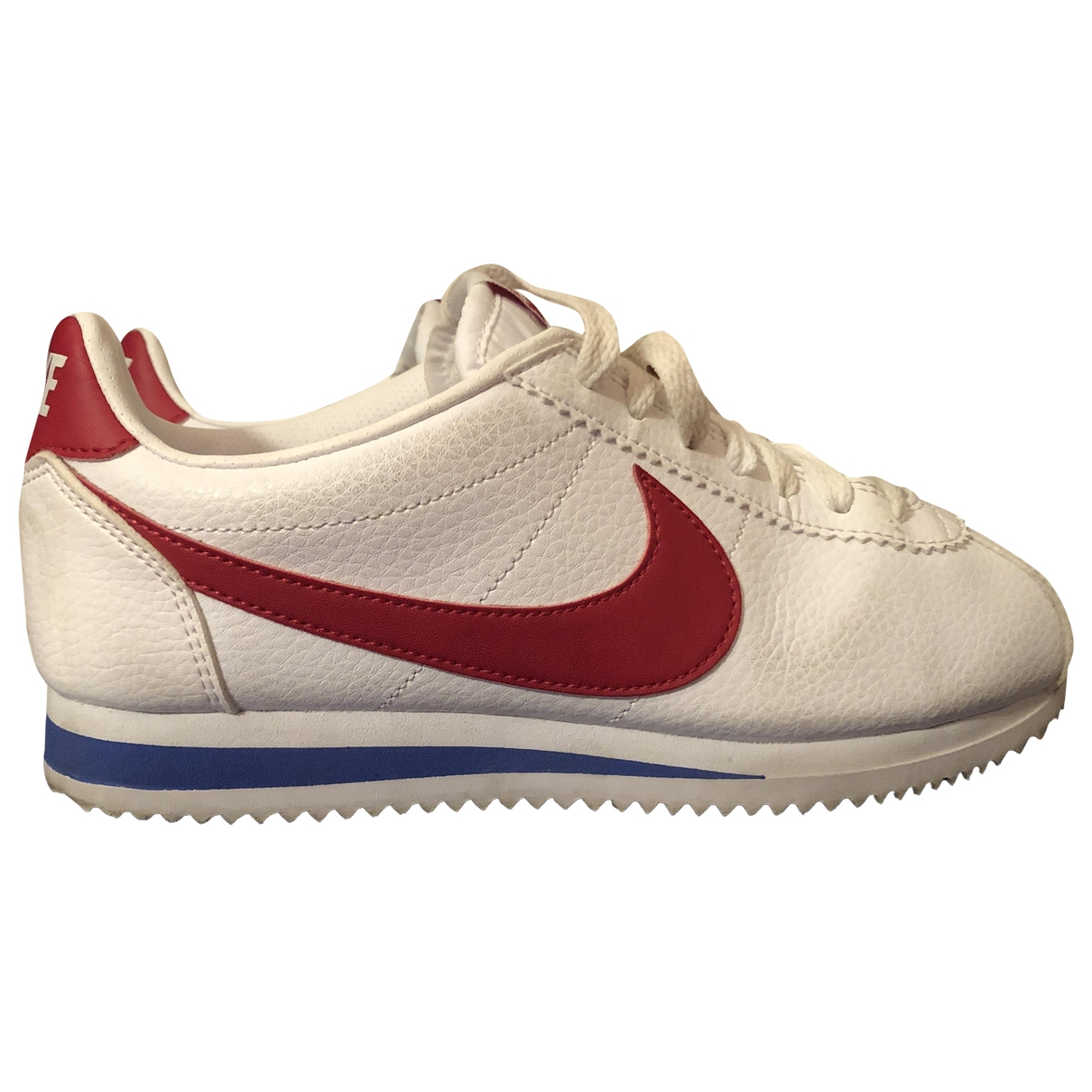 Nike Cortez Sneakers in  Bunt Leinen