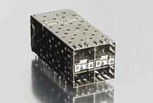 Molex , 75714 2 x 2 Port 80 Way Female SFP Connector (72)