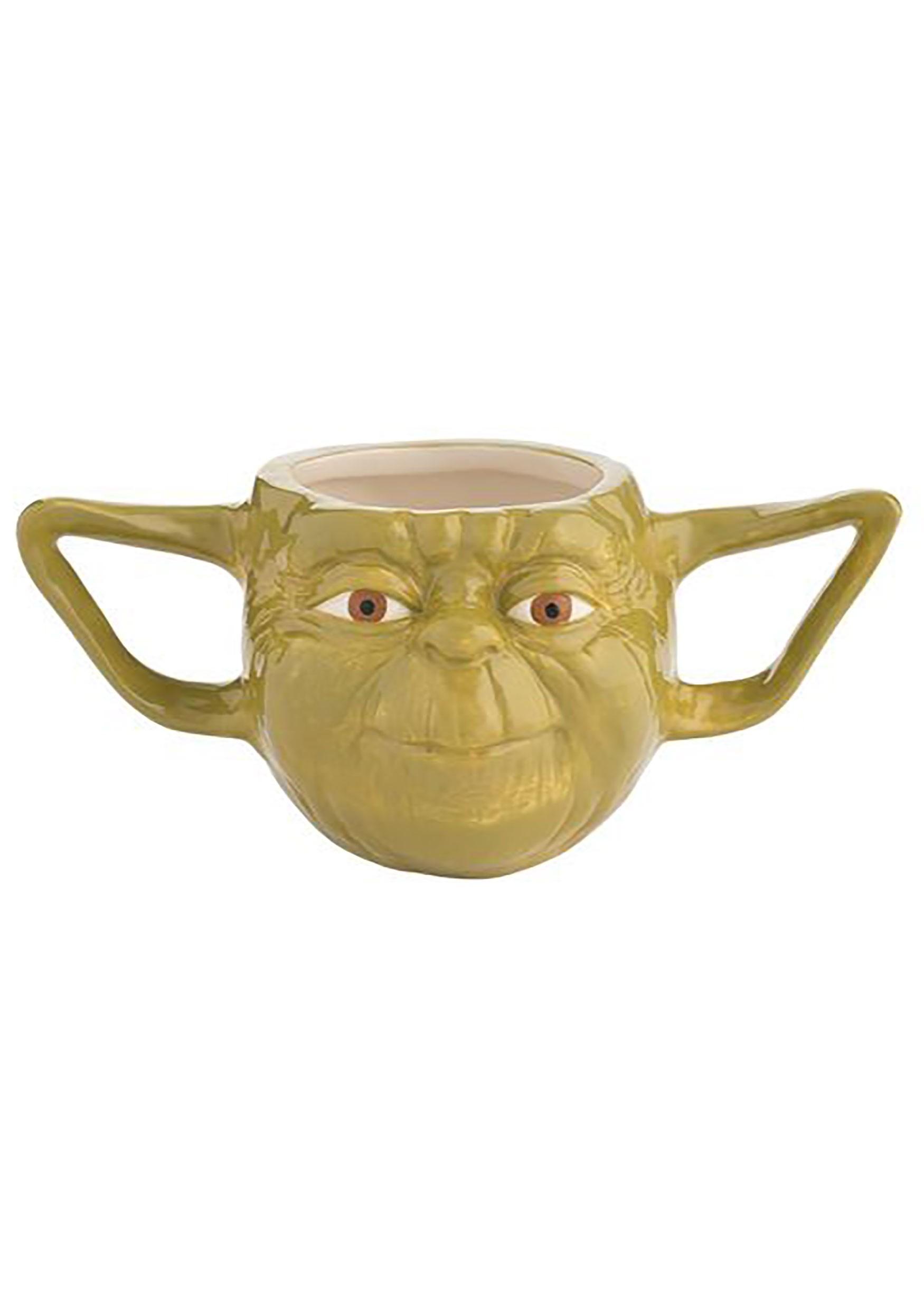 The Yoda Sculpted Mug