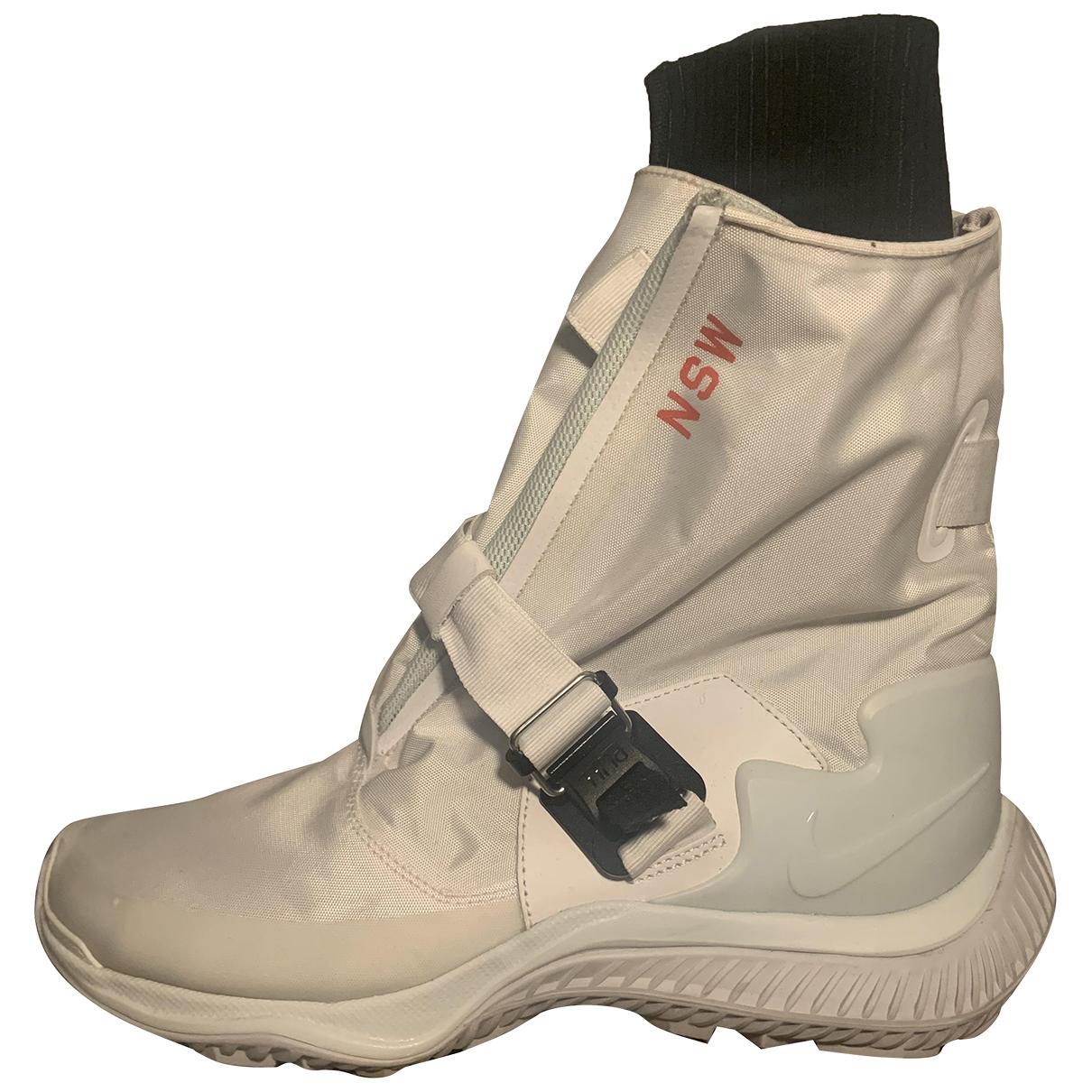 Nike Acg \N Sneakers in  Weiss Kunststoff