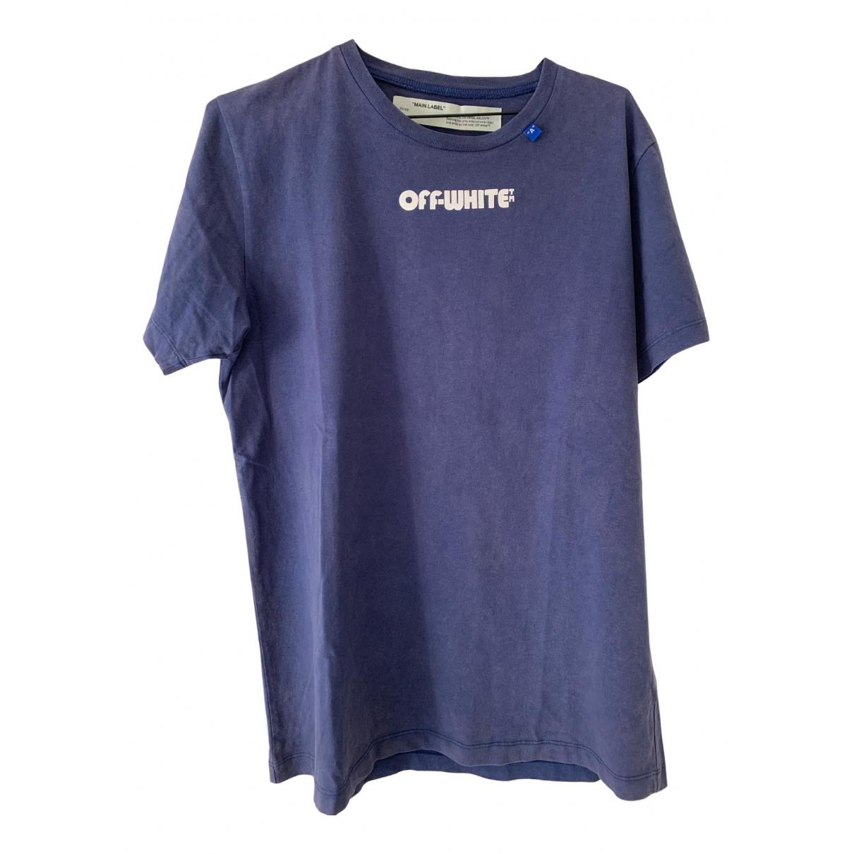 Off-white \N Blue Cotton T-shirts for Men M International