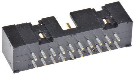 Hirose , HIF3FC, 20 Way, 2 Row, Straight PCB Header (2)