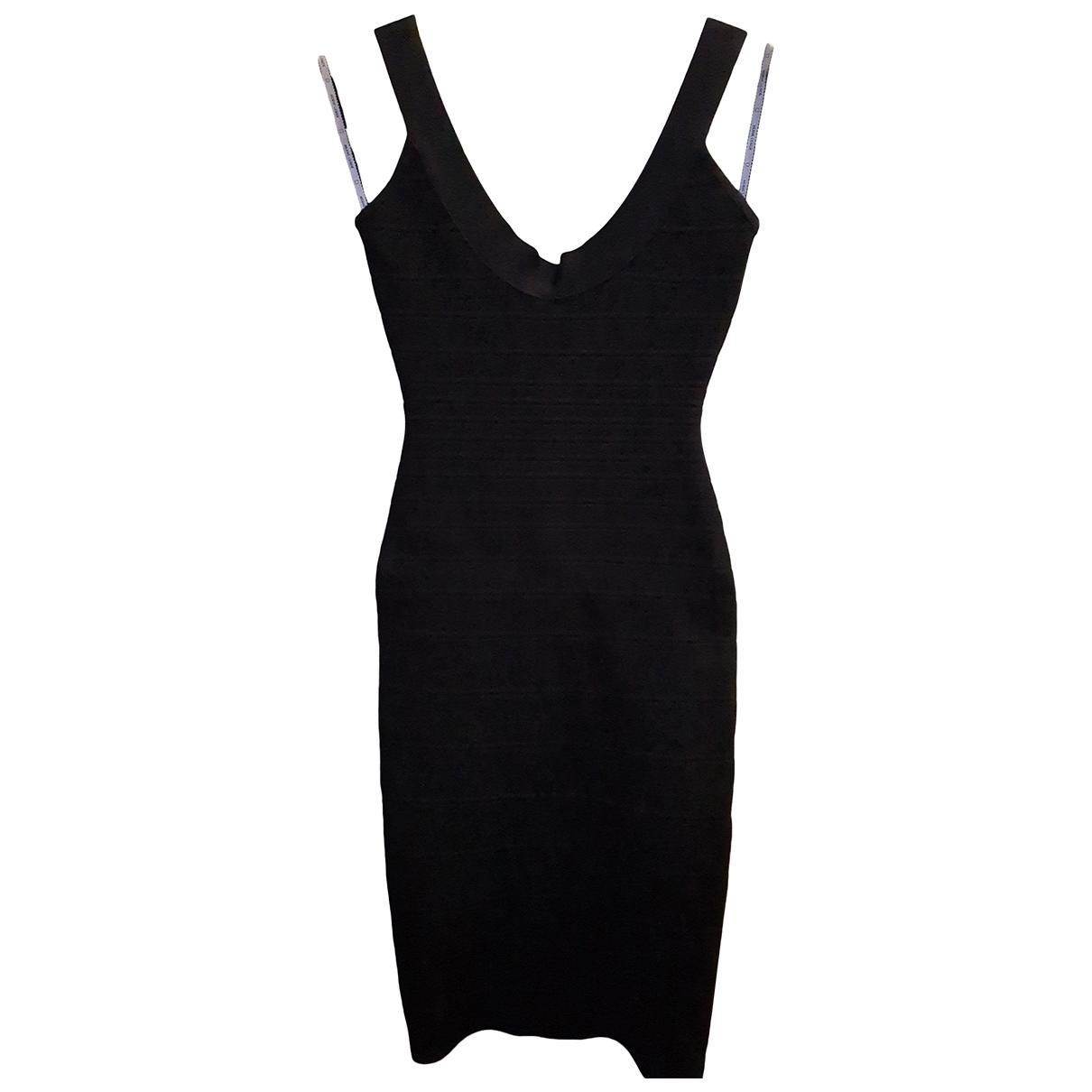 Herve Leger - Robe   pour femme - noir