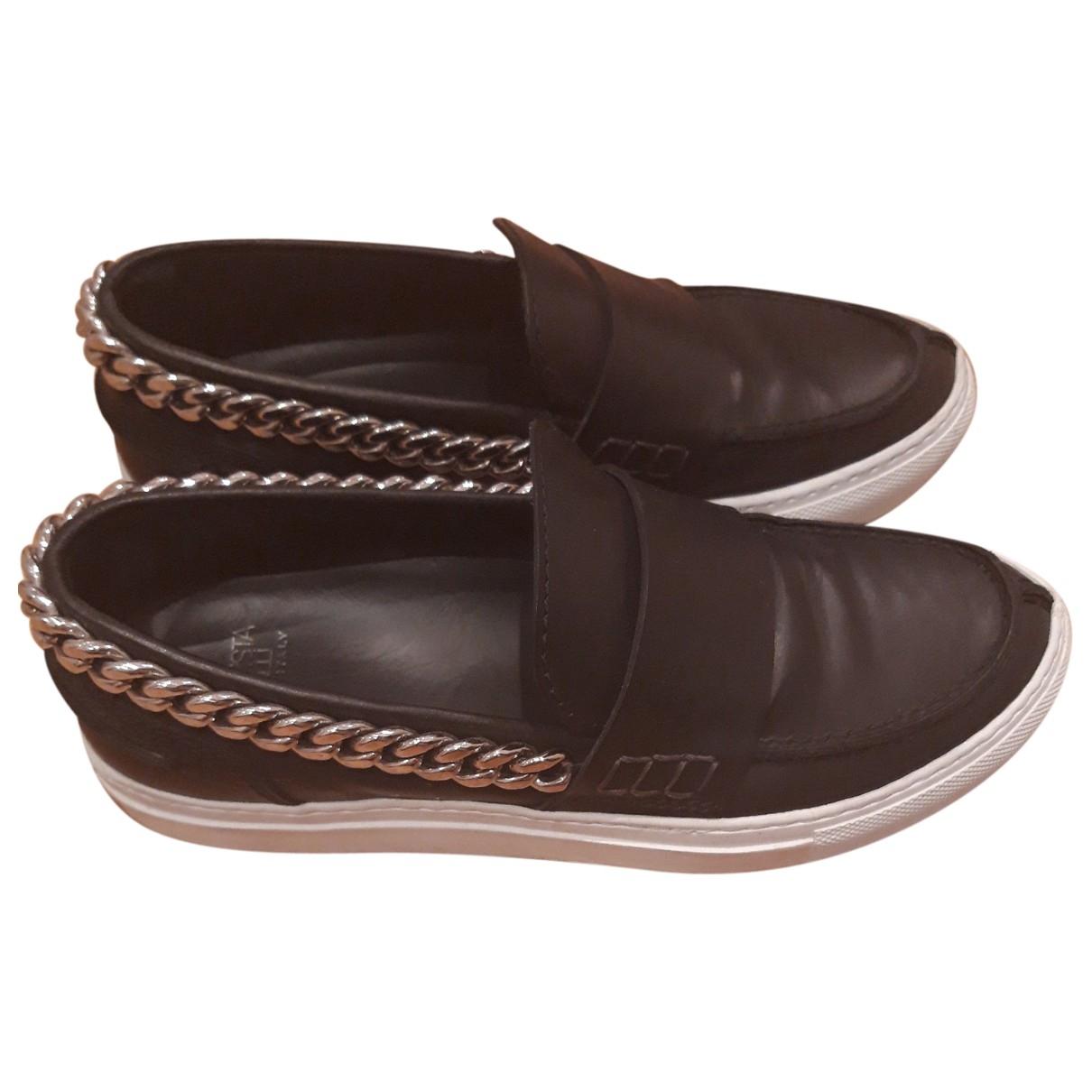 Giambattista Valli \N Sneakers in  Schwarz Leder