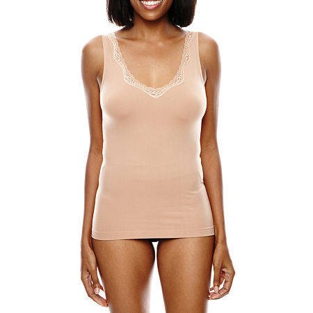 Ambrielle Smoothing Solutions Tank, Small , Beige