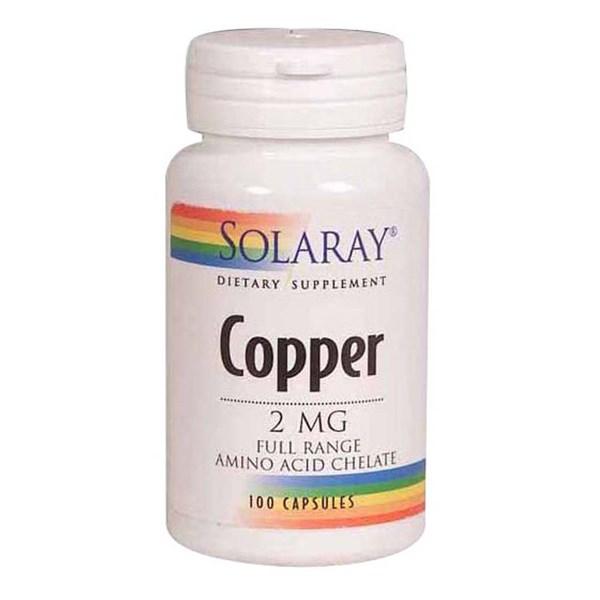 Copper 100 Caps by Solaray