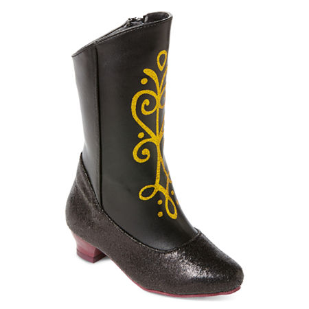 Disney Collection Frozen Anna Costume Boots - Girls, 11-12 , No Color Family