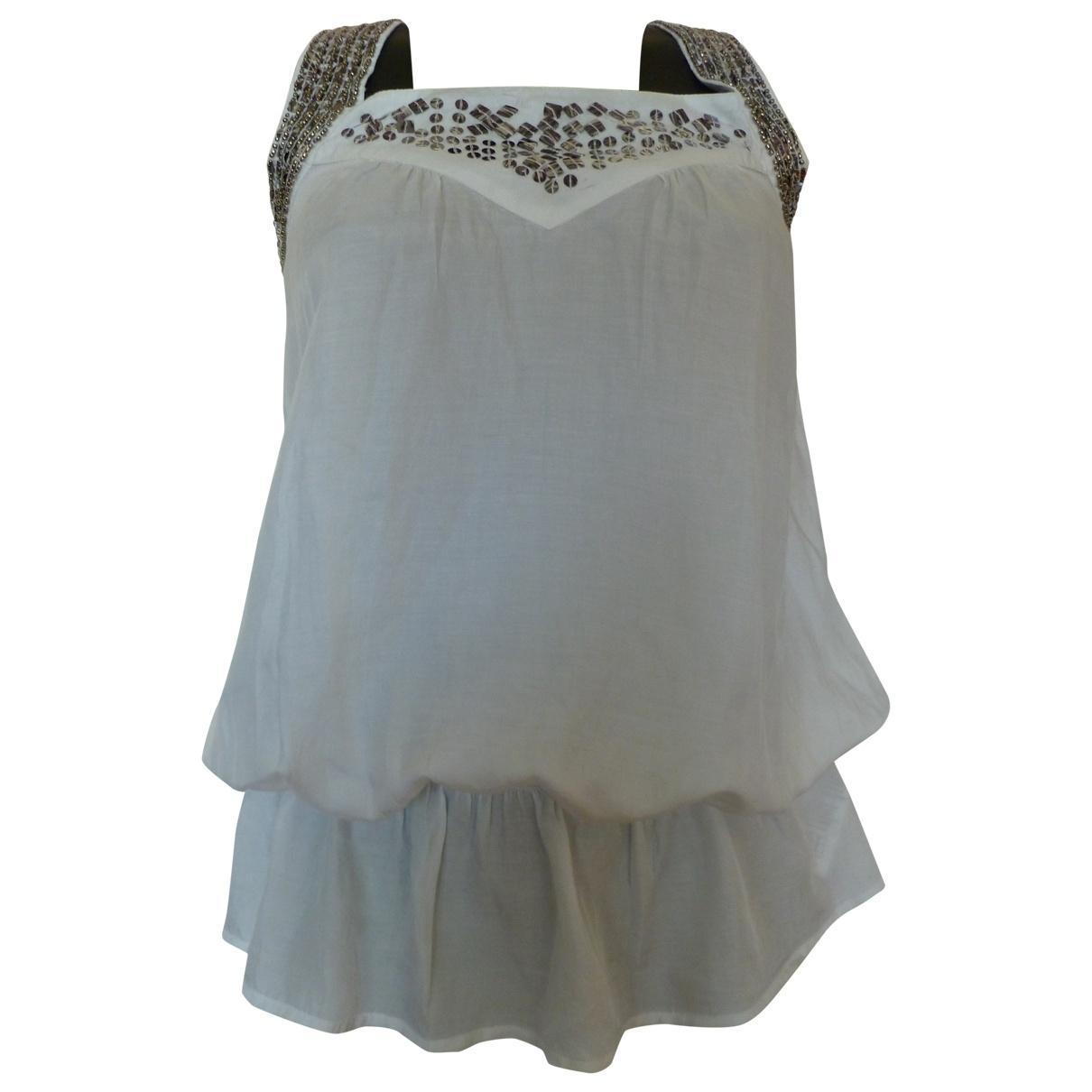 Guess \N White Glitter  top for Women S International