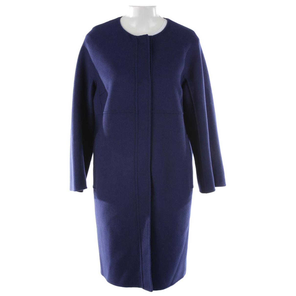 Max Mara \N Blue Wool jacket for Women 42 FR