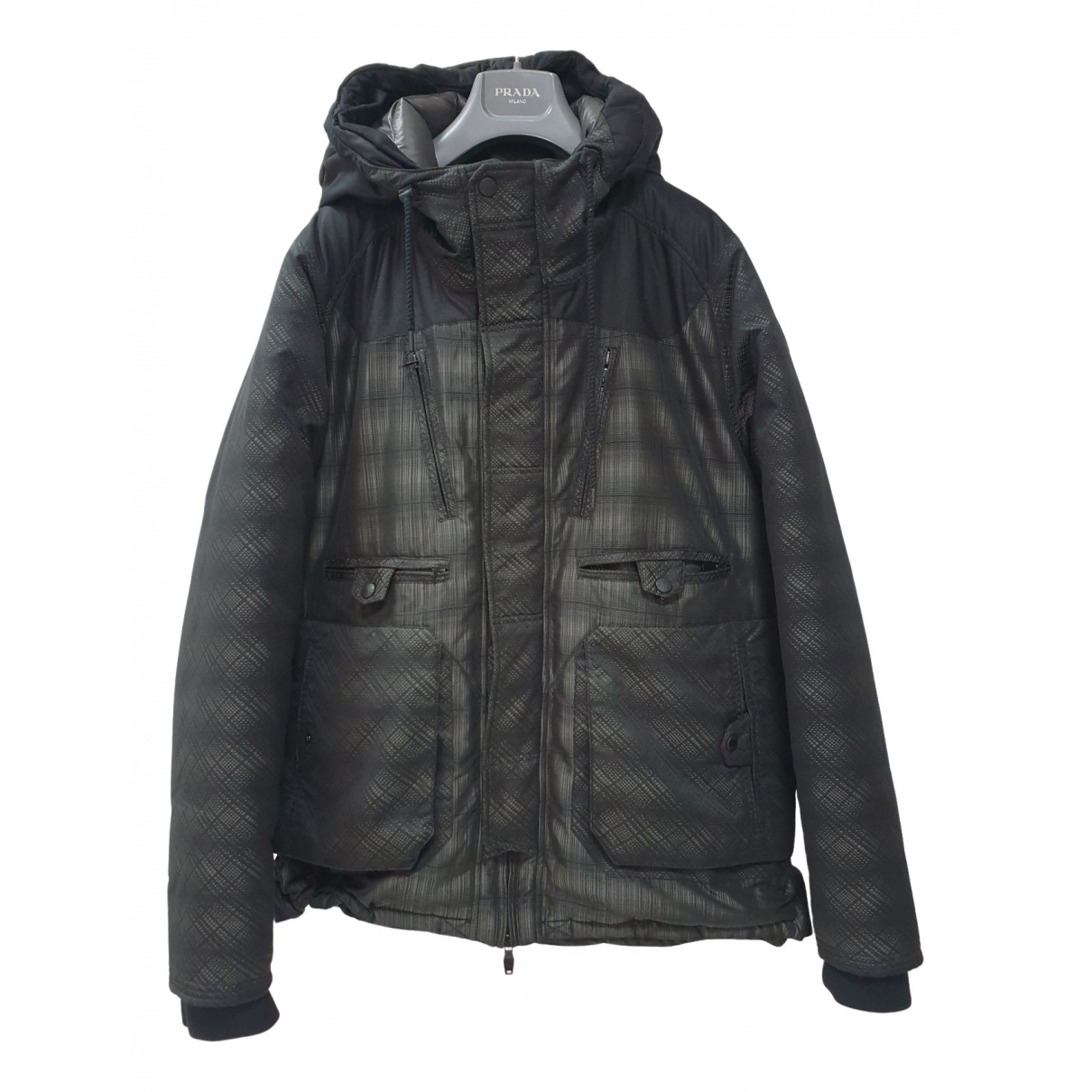 Moncler \N Grey coat  for Men 0 0 - 6