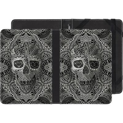 Pocketbook Touch Lux 2 eBook Reader Huelle - Lace Skull von Ali Gulec