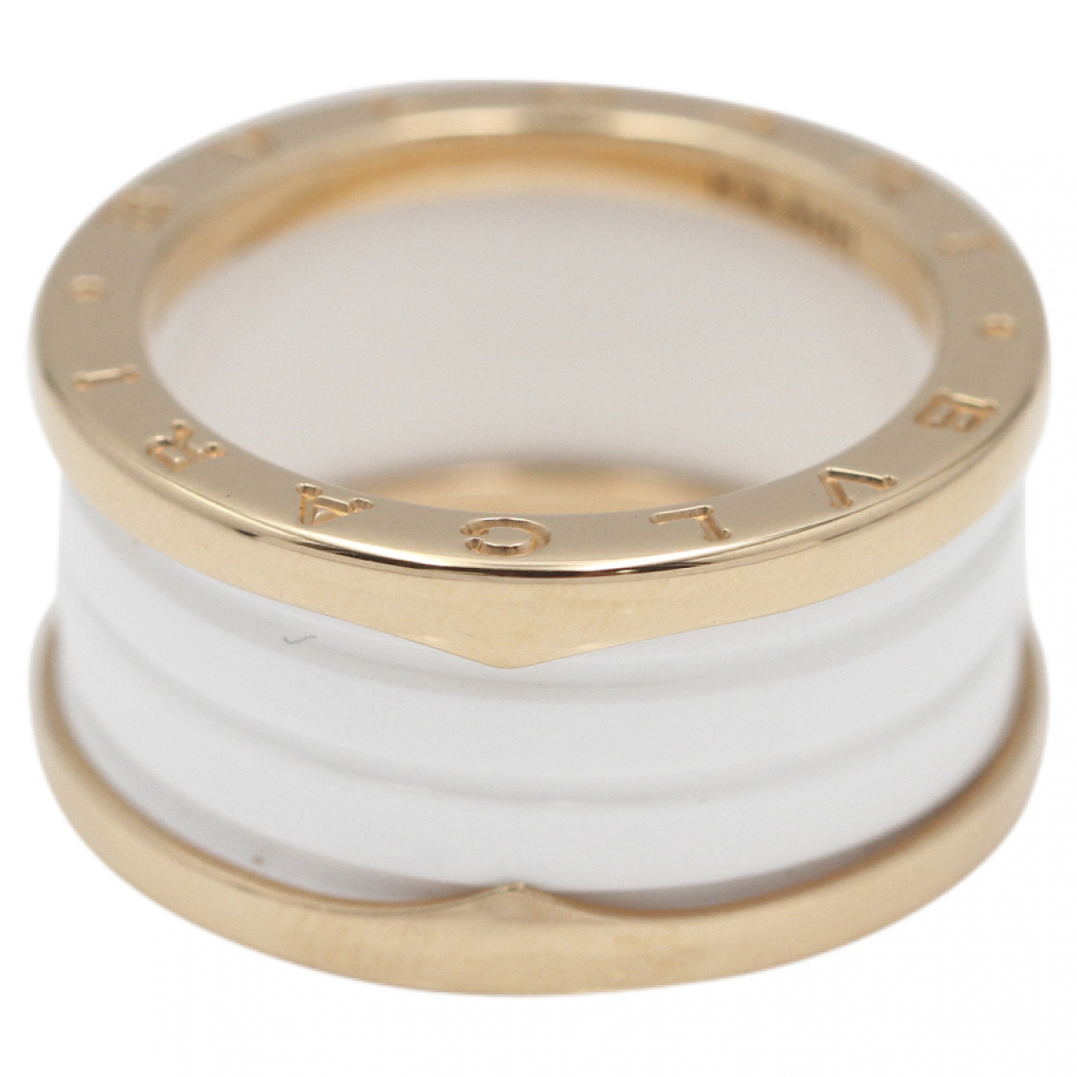 Bvlgari - Bague B.Zero1 pour femme en or rose - blanc