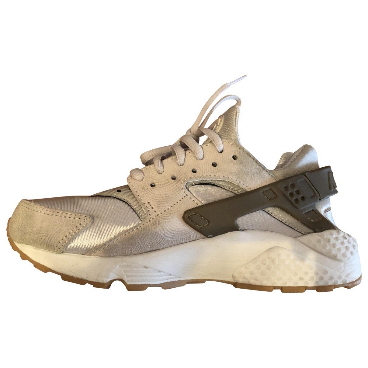 Nike Huarache Beige Cloth Trainers for Women 36 EU