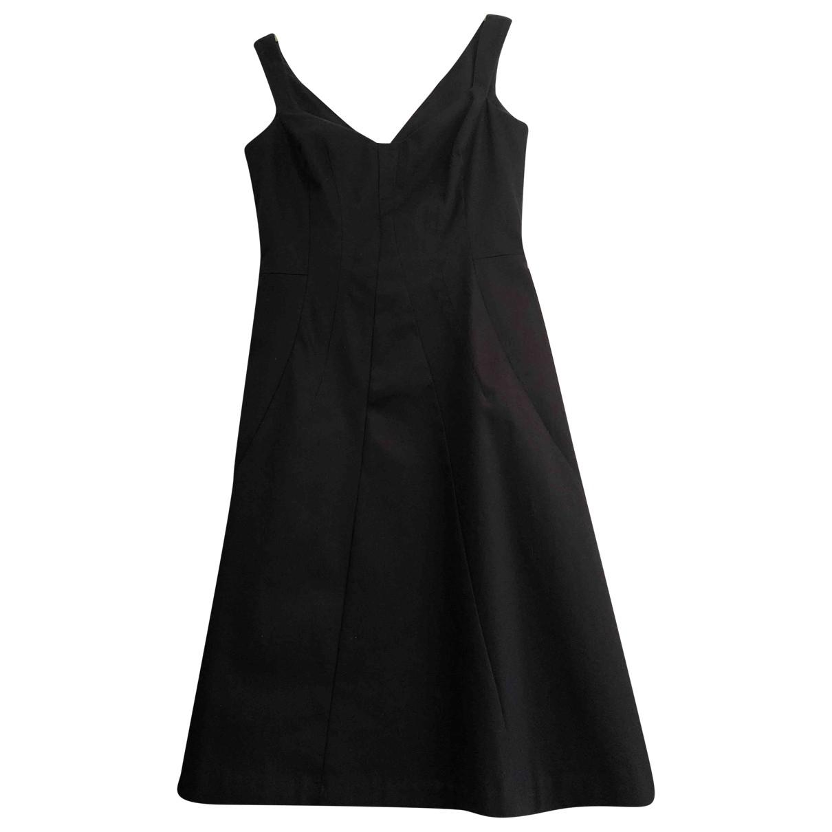 Tara Jarmon \N Kleid in  Marine Baumwolle