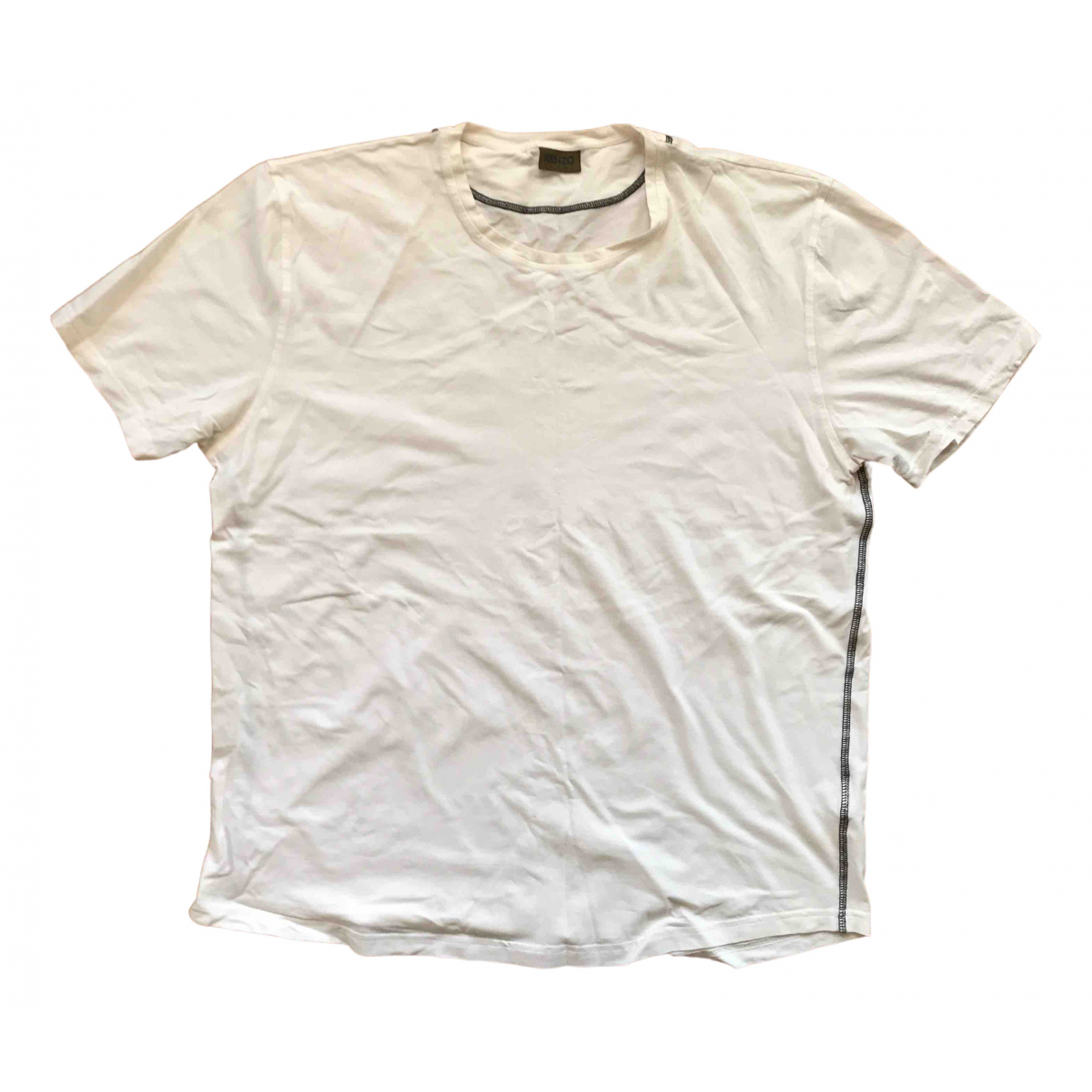 Kenzo - Tee shirts   pour homme en coton - blanc