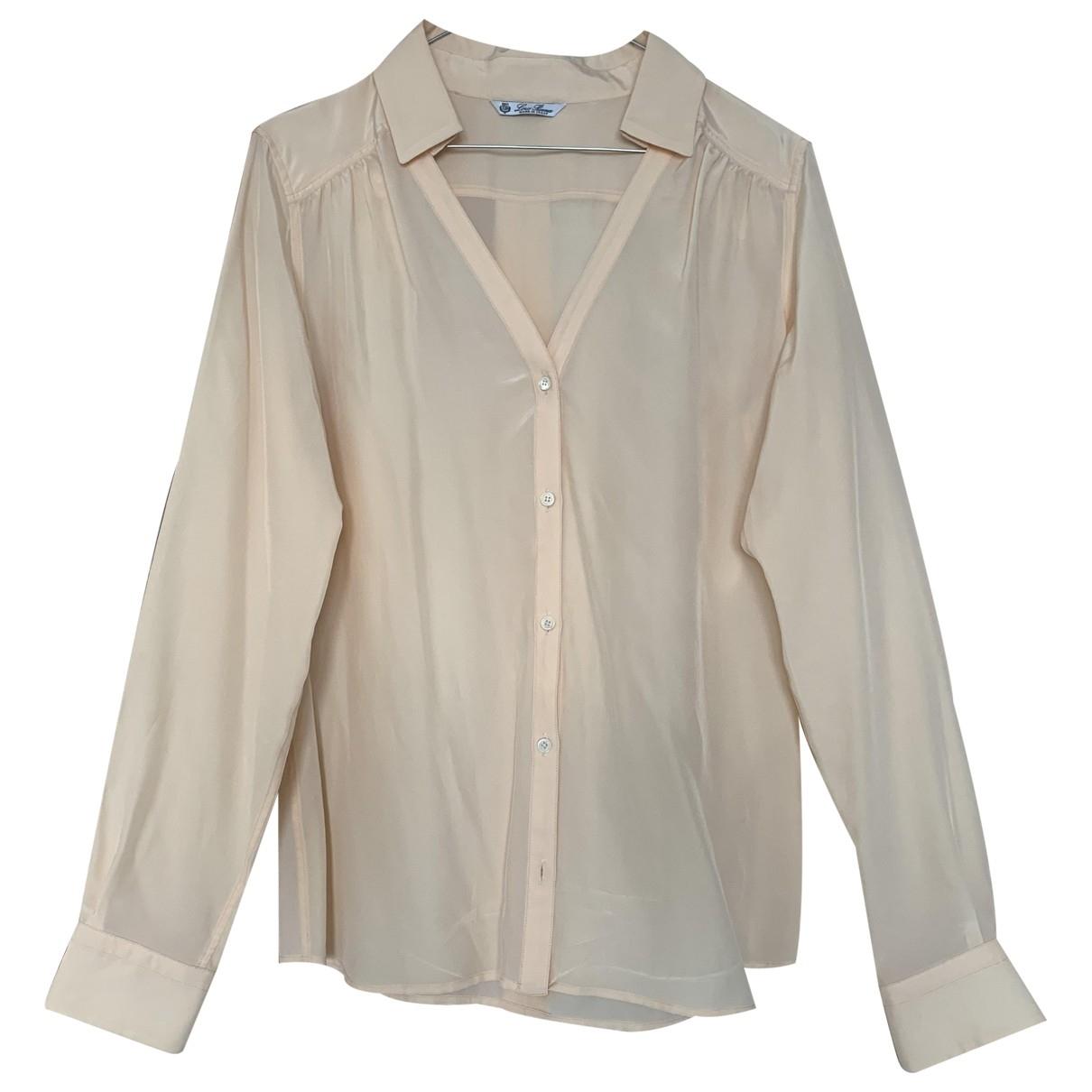 Loro Piana \N Pink Silk  top for Women 44 IT