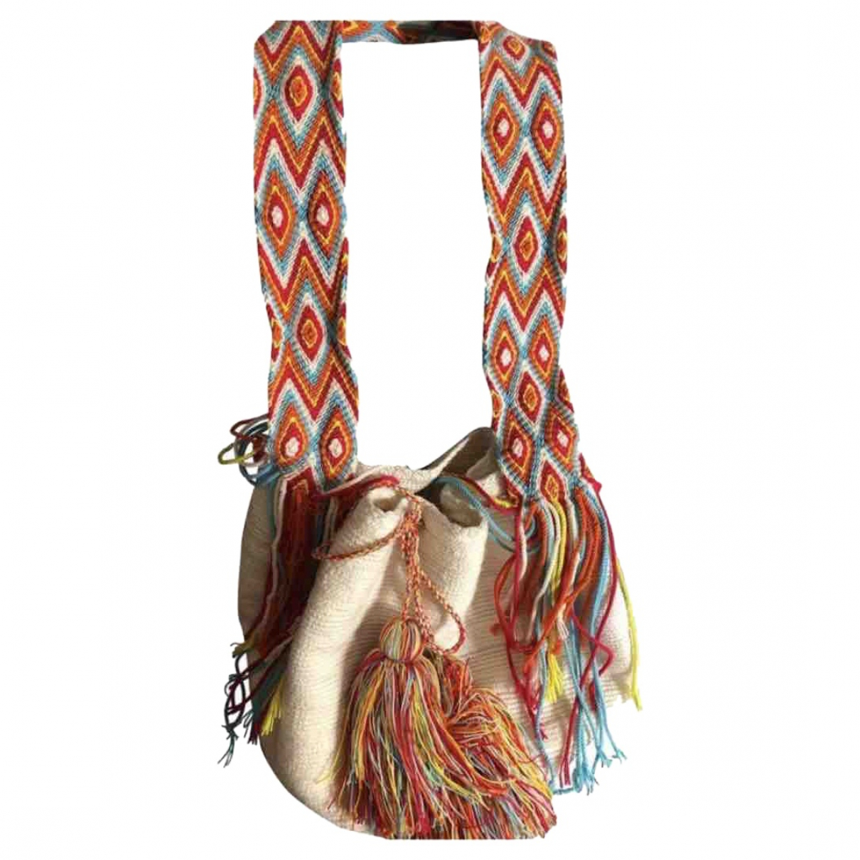 Non Signé / Unsigned \N Multicolour Cotton handbag for Women \N