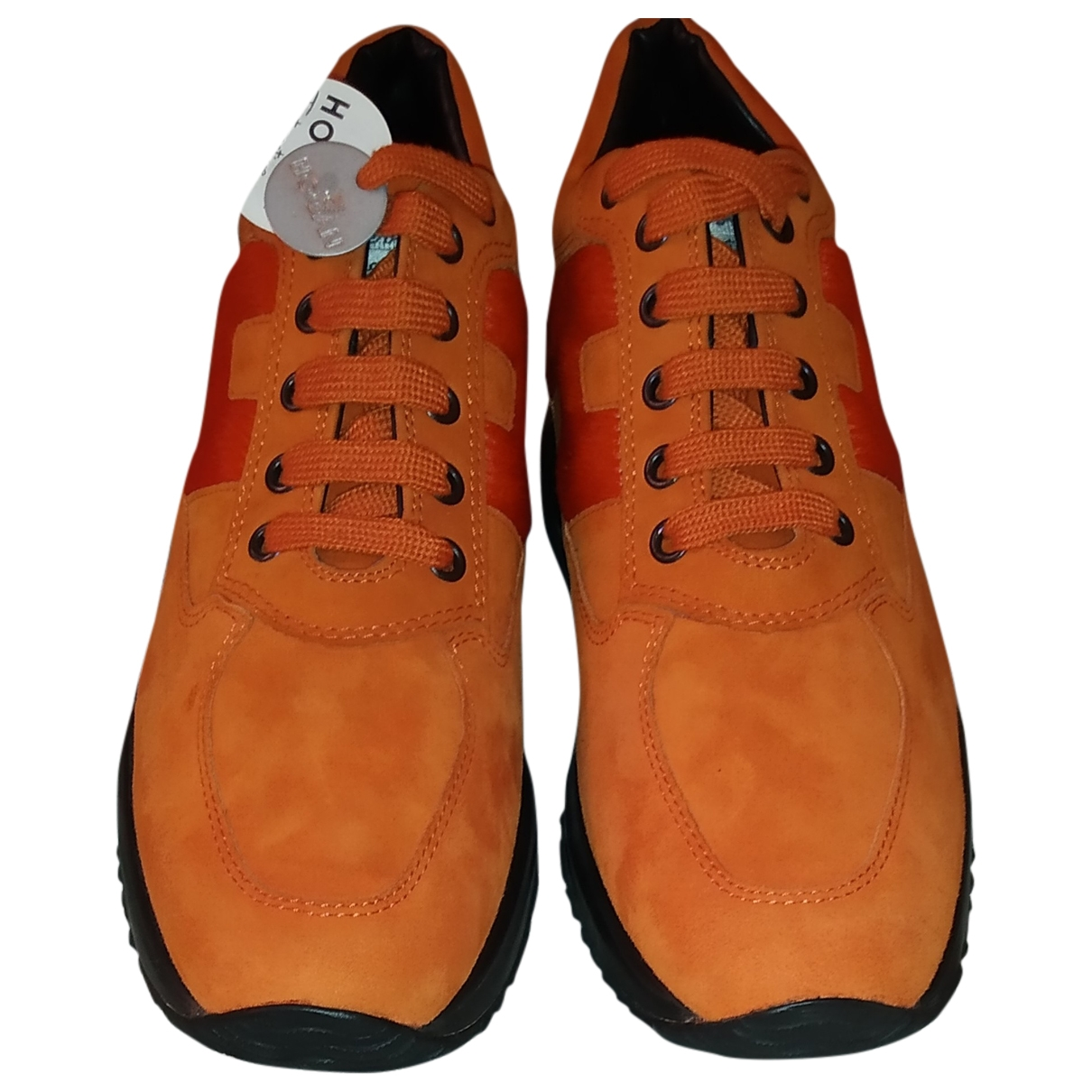 Hogan \N Leather Trainers for Women 38 IT