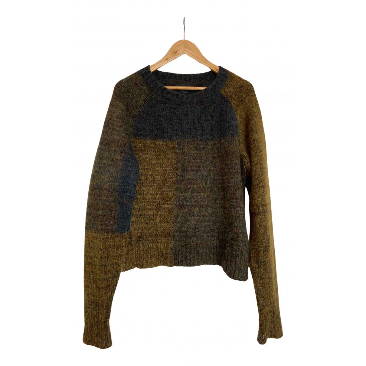 Isabel Marant - Pull   pour femme en laine - kaki