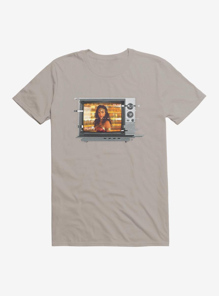 DC Comics Wonder Woman 1984 Static TV T-Shirt