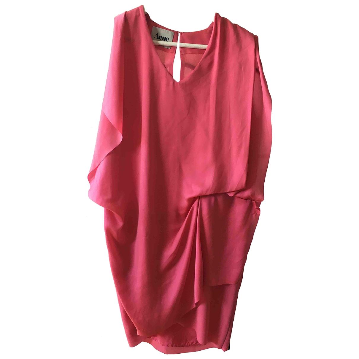 Acne Studios \N Pink dress for Women 36 FR