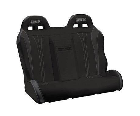 Simpson 105-510-305 Racing Vortex UTV Rear Seat Bench Black/Charcoal for Polaris RZR 4 800/900