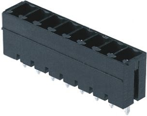 Weidmüller , OMNIMATE SC, 4 Way, 1 Row, Straight PCB Header (5)