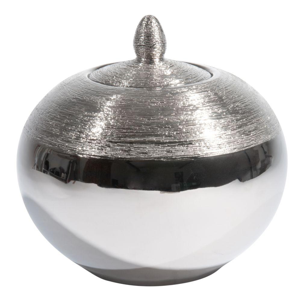 Krug SILVER aus Keramik, H 21cm
