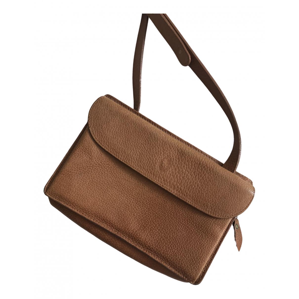 Ralph Lauren \N Camel Leather handbag for Women \N