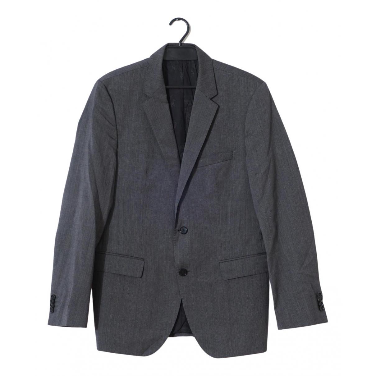 Boss \N Grey Wool jacket  for Men L International