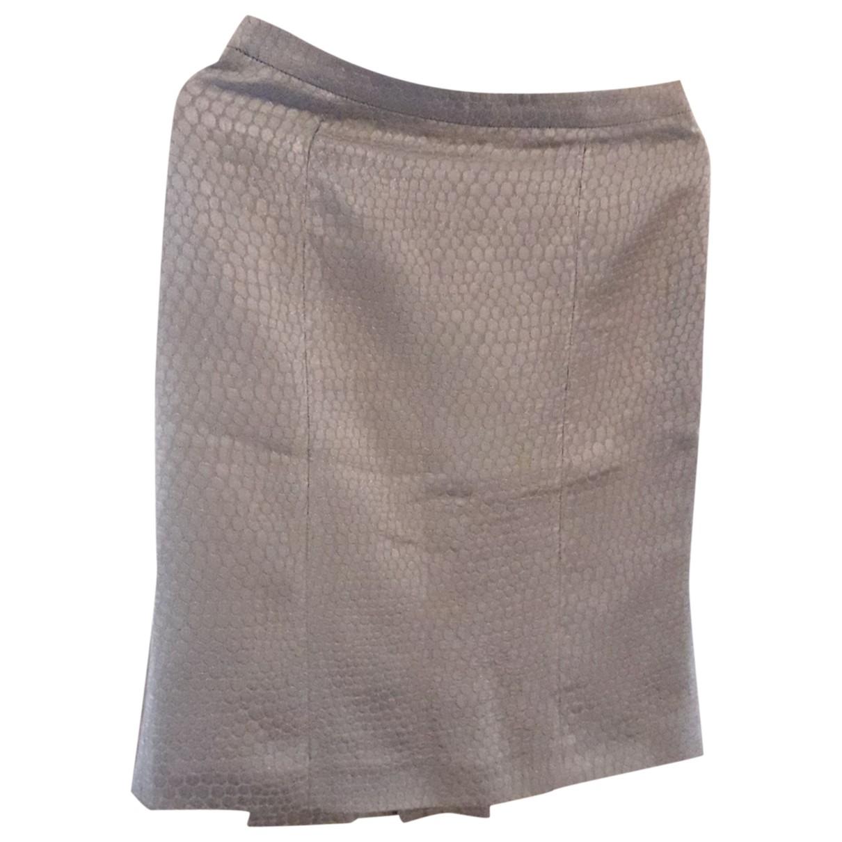 Armani Collezioni \N Grey skirt for Women 40 IT