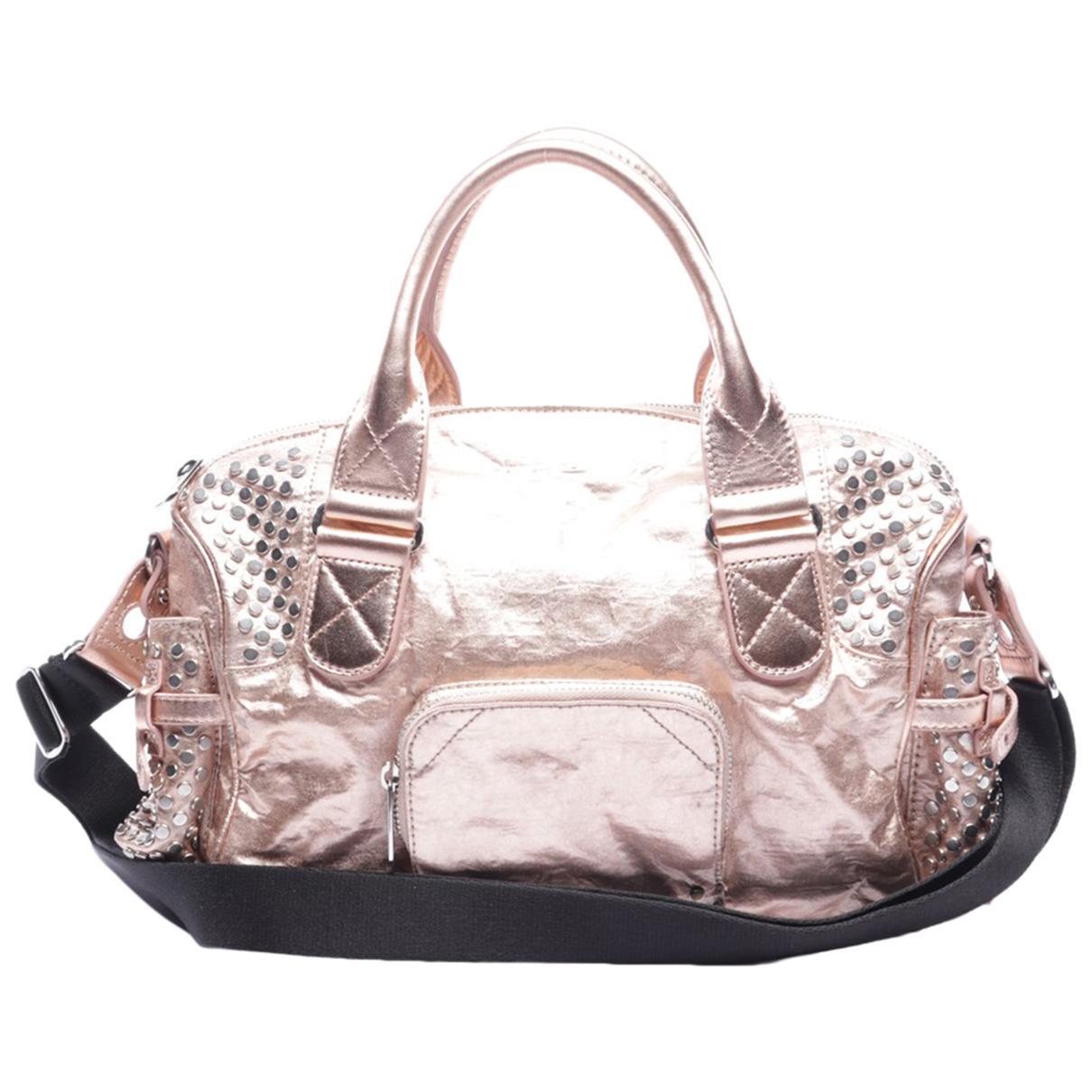 Sonia Rykiel \N Handtasche in  Rosa Baumwolle