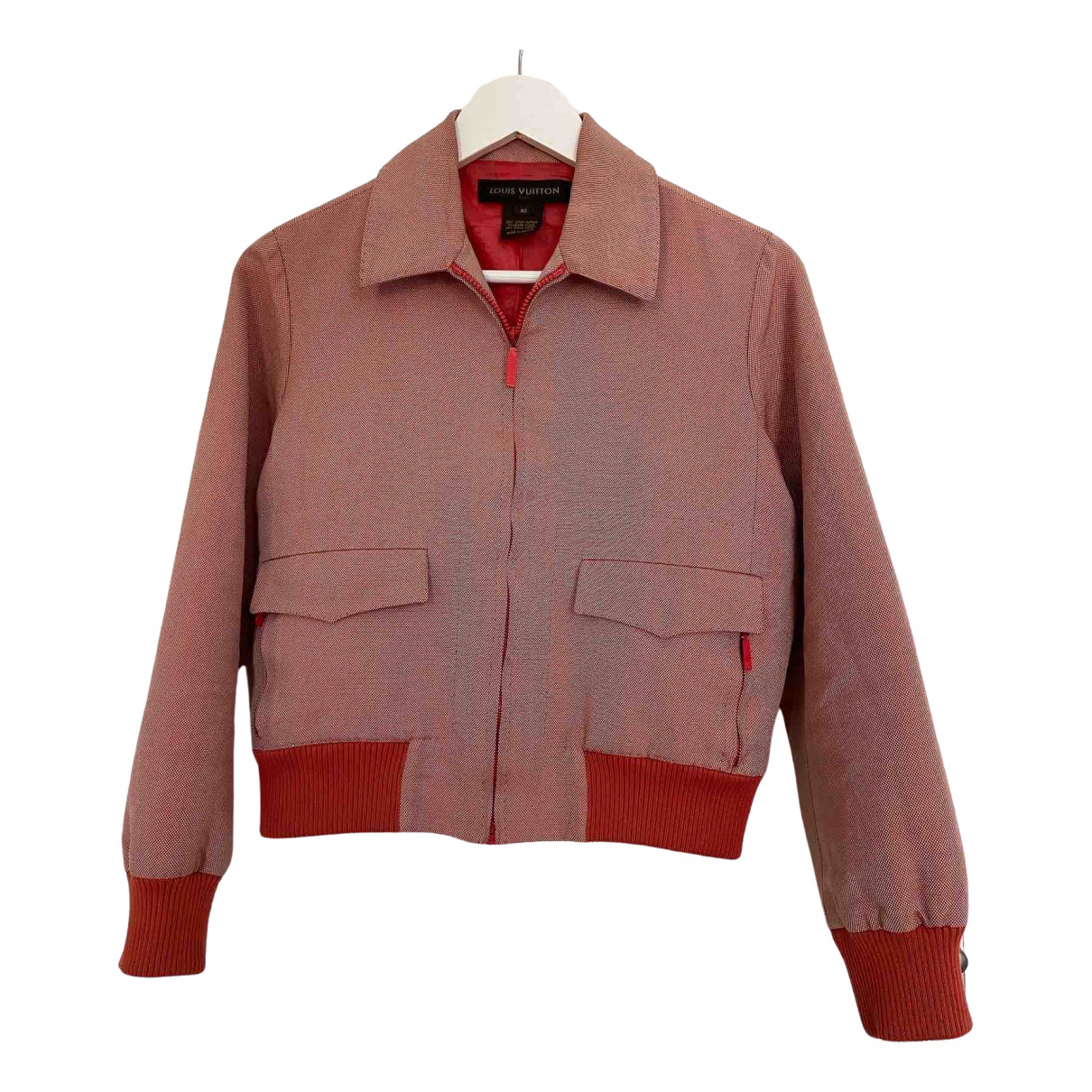 Louis Vuitton \N Pink Cotton jacket for Women 40 FR