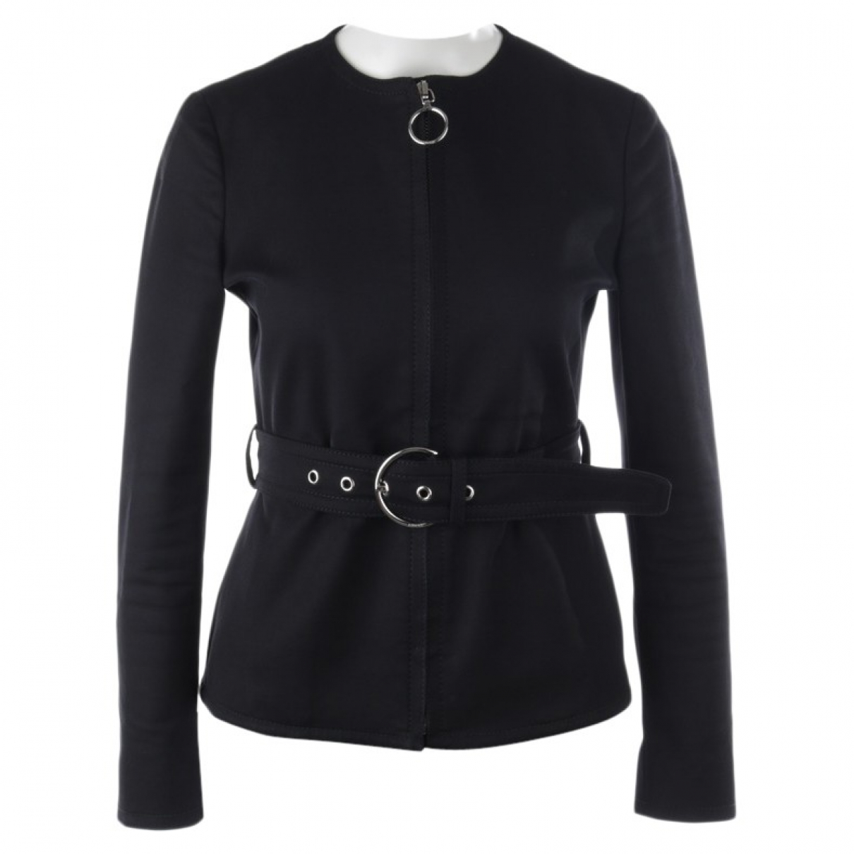 Gucci \N Black Cotton jacket for Women 36 FR