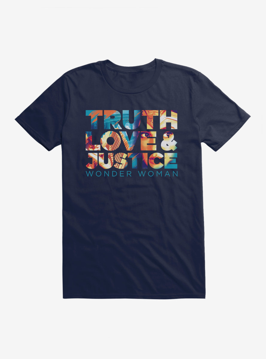 DC Comics Wonder Woman 1984 Truth, Love, And Justice T-Shirt