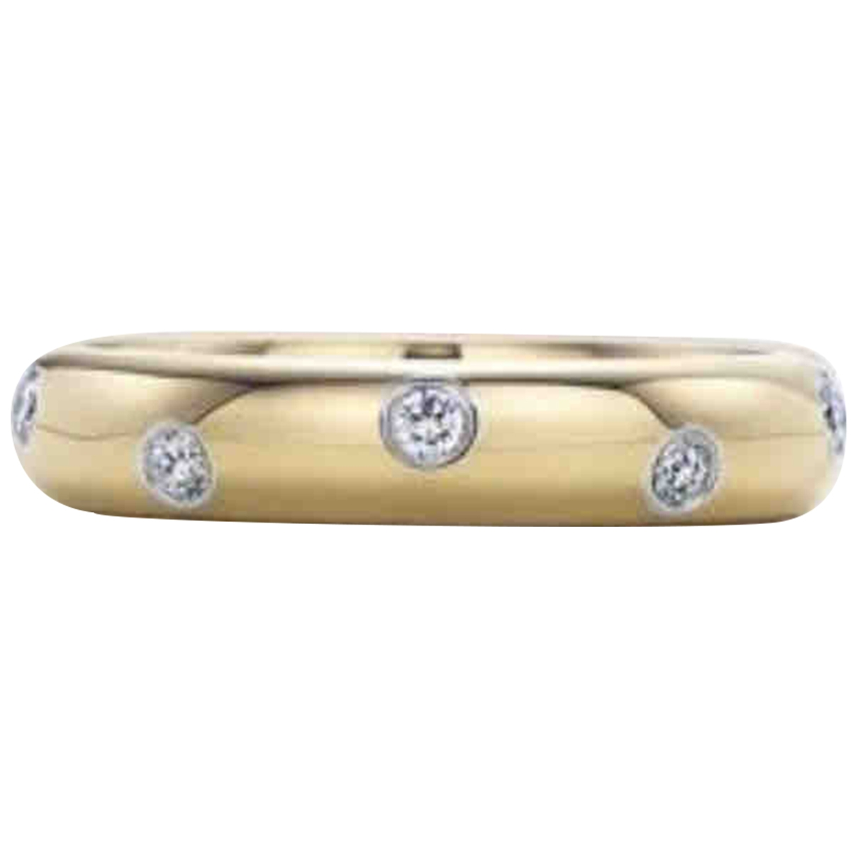 Tiffany & Co \N Yellow Yellow gold ring for Women 7 ½ US