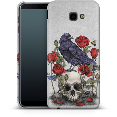 Samsung Galaxy J4 Plus Smartphone Huelle - Memento Mori von Terry Fan