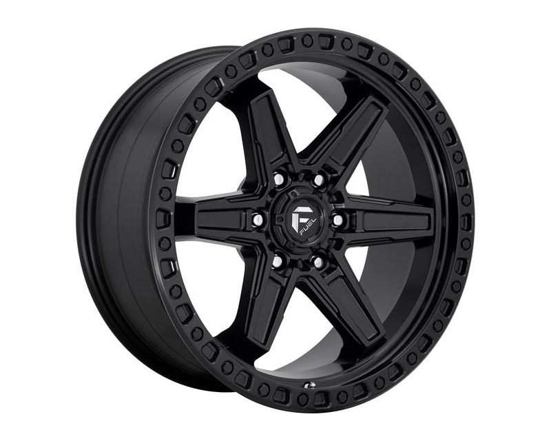 Fuel D697 Kicker Wheel 17x9 6X135 -12mm Matte Black