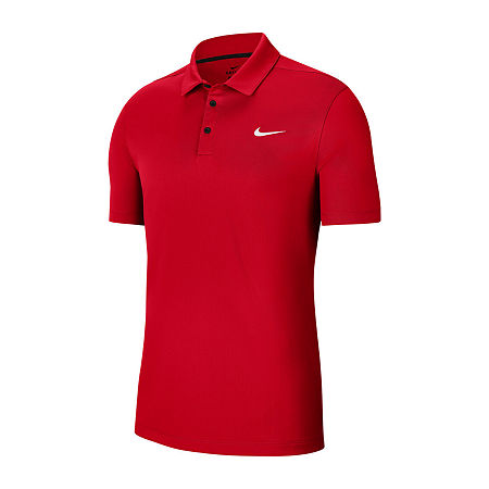 Nike Big and Tall Mens Short Sleeve Polo Shirt, X-large Tall , Red