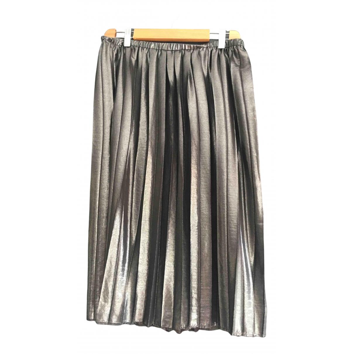 Isabel Marant Etoile \N Rocke in  Silber Polyester